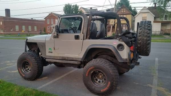 Jeep Tj Lifted >> 1999 Jeep Wrangler Sport. 2-Door 4.0L. Lifted Jeep. Modified Lifted TJ. Wrangler