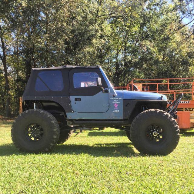 1999 Jeep Wrangler TJ on 1 Ton Axles