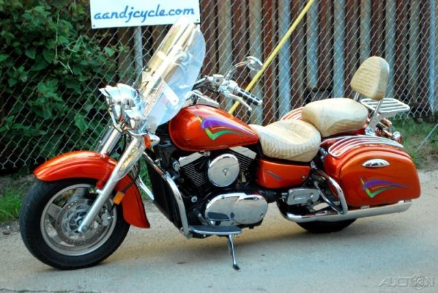 1999 Kawasaki Vulcan 1500 Nomad Custom Paint Scheme With