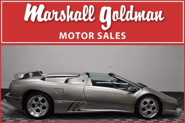 1999 Lamborghini Diablo V T Roadster Titanium W Black Leather Only