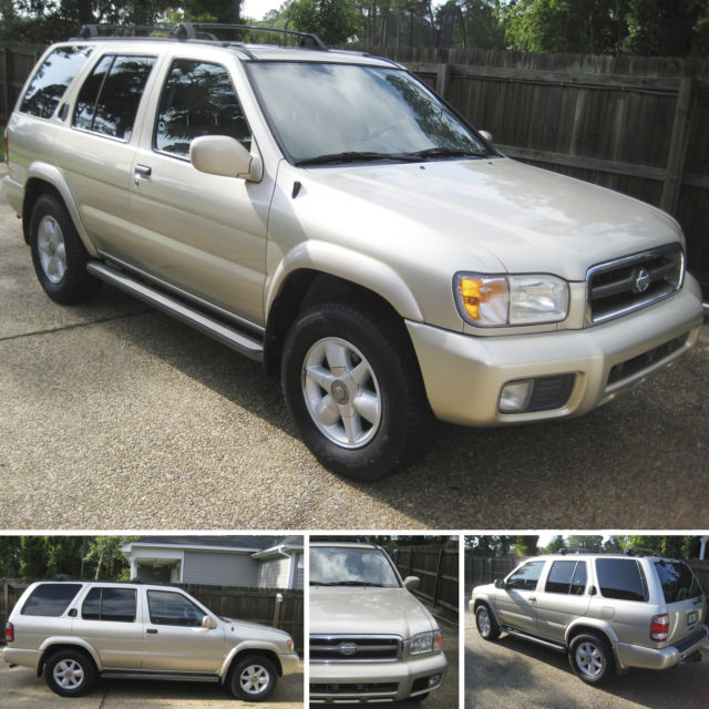 1999 5 Nissan Pathfinder Leather Bose Stereo Sound Sys+ CD Tow Pkg