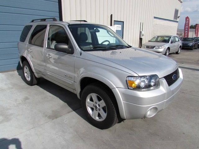 1owner 2007 Ford Escape Hybrid Electric 4wd Leather 32 Mpg 07 Awd Knoxville Tn