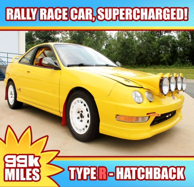 2000 Acura Integra Type R Supercharged Rally Car One Of A