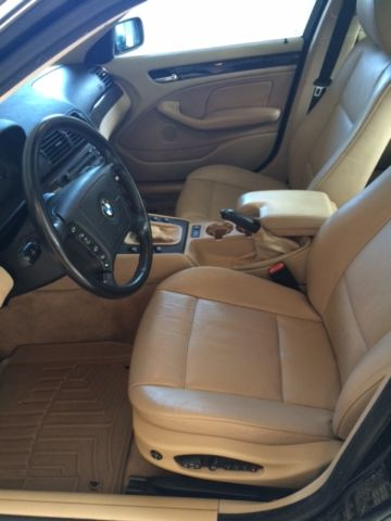 Bmw E I Black Tan Leather Interior Premium Package Winter Package on Bmw E46 Water Pump