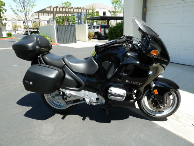 2000 Bmw R1100rt Motorcycle Black Touring Loaded Gps Navigation Super Low Miles