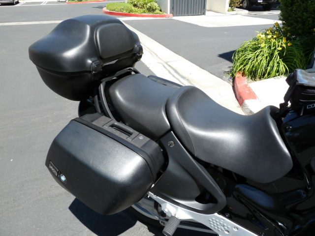 2000 bmw r1100rt motorcycle black touring loaded gps navigation super low miles. Black Bedroom Furniture Sets. Home Design Ideas