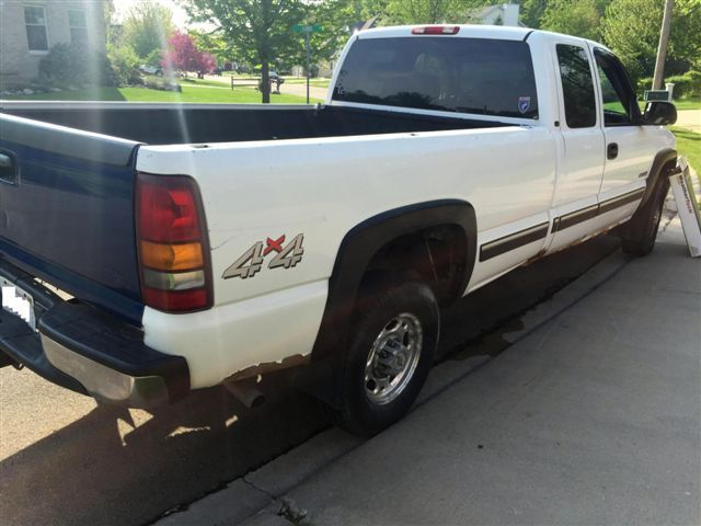 2000 chevy silverado 4wd ls 2500 hd extended cab long bed. Black Bedroom Furniture Sets. Home Design Ideas