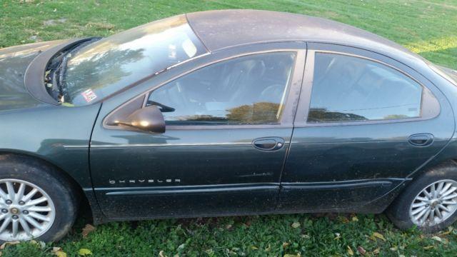 2000 chrysler concorde dark green exterior with dark leather interior vehicles markets com