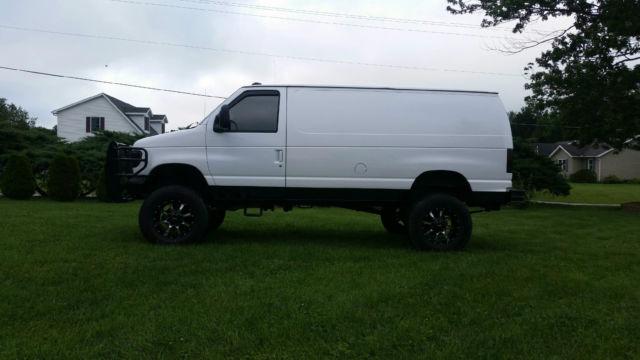 Front Wheel Drive Camper : Ford e econoline cargo van door l