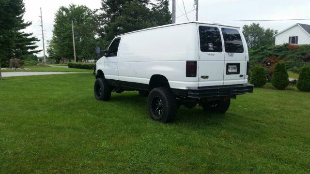 2000 ford e 350 econoline cargo van 2 door 5 4l 4x4 4 wheel drive 4wd camper. Black Bedroom Furniture Sets. Home Design Ideas