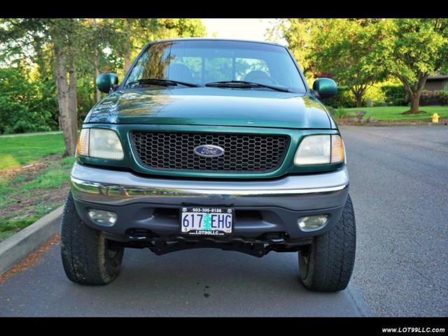 2000 Ford F-150 XLT FABTECH Lift Kit Lifted 4x4 Automatic 4