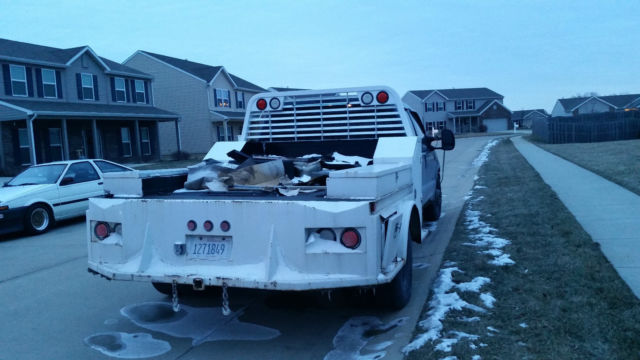 Ford F Superduty Diesel Dually W Low Profile Hauler Bed