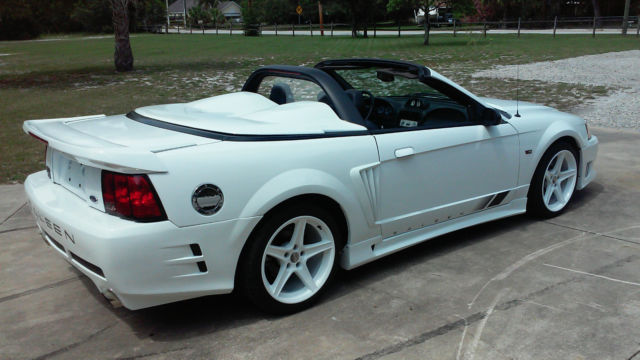 2000 ford mustang saleen s281 speedster 12 153 miles. Black Bedroom Furniture Sets. Home Design Ideas