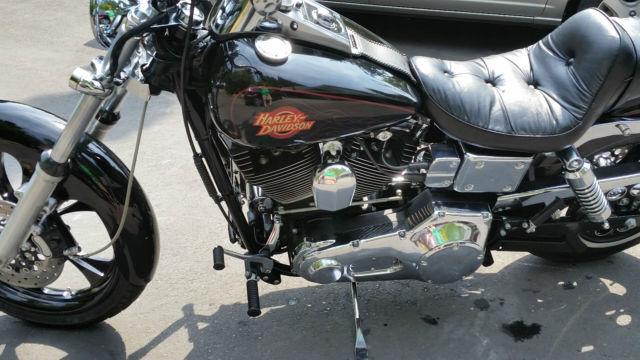 Used Harley Davidson Wheels >> 2000 Harley Davidson Dyna Wide Glide (FXDWG) 30,085 Miles ...