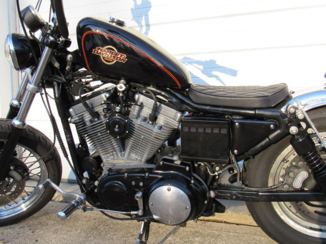 Harley Davidson Xl C Custom Bobber Chopper Brat Cafe Xl on Wiring For Sportster Custom