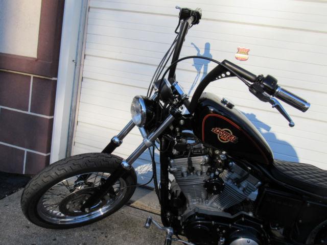 2000 Harley Davidson Xl883c Custom Bobber Chopper Brat