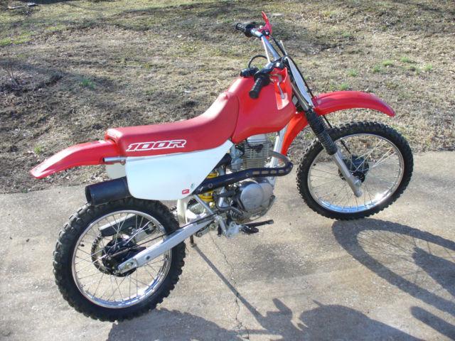 2000 Honda Xr100 Dirt Bike Clean Machine
