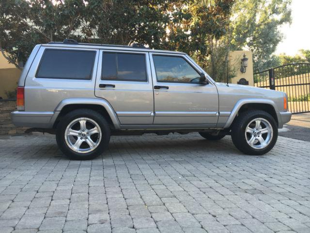 Jeep Dealership San Diego >> 2000 JEEP CHEROKEE XJ SPORT 4X4 - SILVERSTONE - NEW ENGINE ...