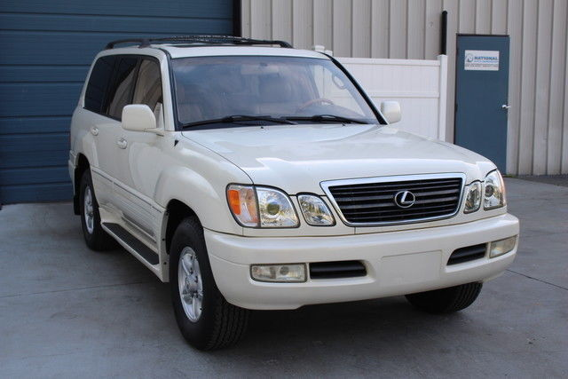 Used Cars Knoxville Tn >> 2000 Lexus LX 470 Leather 3rd Row Sunroof LX470 4x4 Land Cruiser FJ Knoxville TN