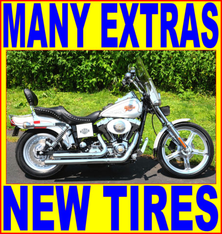 2000 PEARL WHIT... Harley Davidson Wide Glide Specifications