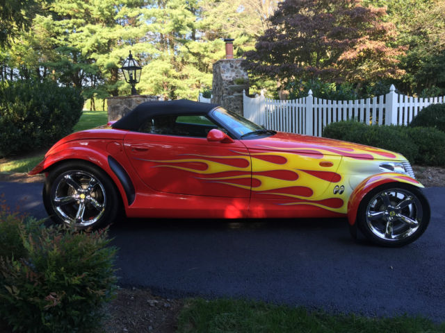 2000 Plymouth Prowler No Reserve Supercharged Custom Paint Body Kit And Grill