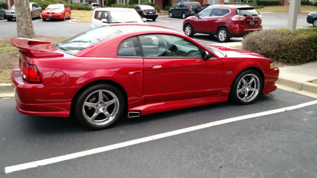 2000 roush stage 2 gt mustang laser red like new condition. Black Bedroom Furniture Sets. Home Design Ideas