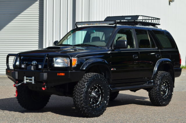 2000 TOYOTA 4RUNNER 4X4 SR5 LIFTED BUILT TACOMA JEEP ...