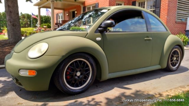 2000 vw beetle glx turbo volkswagen 5 speed army green rat rod. Black Bedroom Furniture Sets. Home Design Ideas