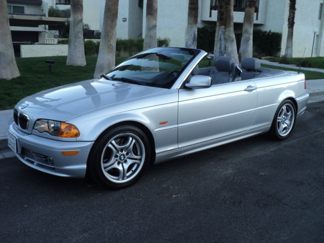 2001 Bmw 330ci E46 Convertible Auto Low Miles Sport Package Outstanding Car