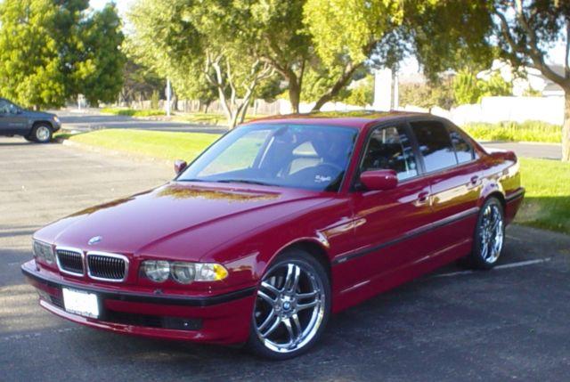 2001 Bmw 740i E38 M Sport Short Wheel Base Rare Imola Red