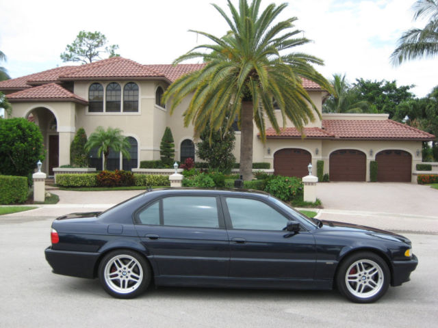 2001 BMW 750iL V-12 FACTORY PROTECTION PACKAGE-RUNS ...