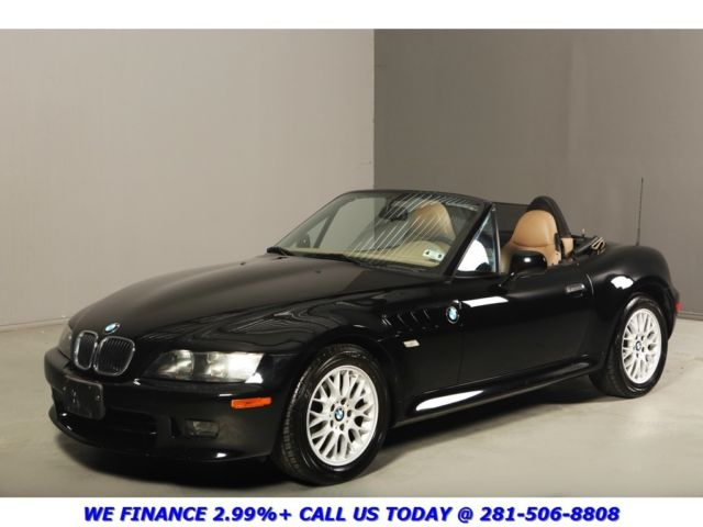 2001 Bmw Z3 2 5i Convertible 5sd M Sport Roadster Leather