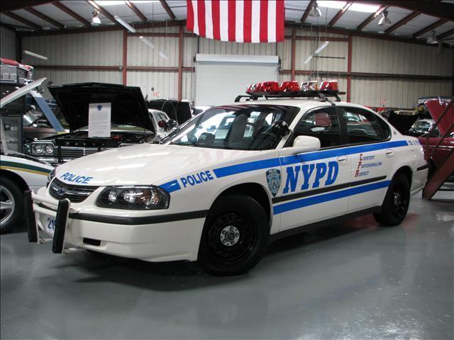 2001 Chevrolet Impala Police Package Movie Car Nypd