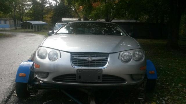 2001 Chrysler 300m Sedan 3 5l V6 For Parts Or Fix Engine