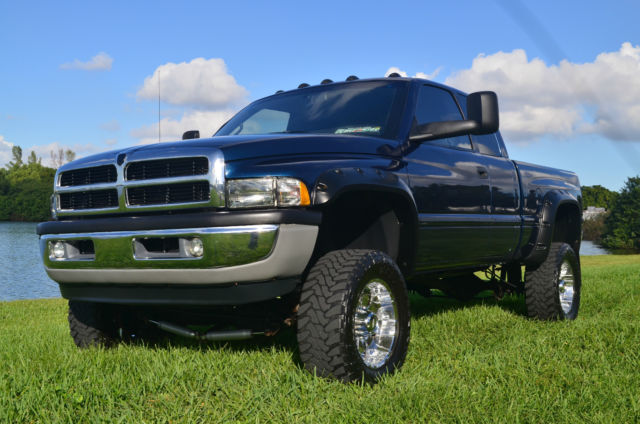 2001 dodge ram 2500 laramie slt cummins turbo diesel 4x4 shortbed lifted leather. Black Bedroom Furniture Sets. Home Design Ideas