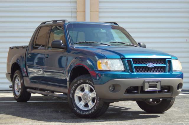 2001 Ford Explorer Sport Trac 4wd 4x4 Zero Rust Clean