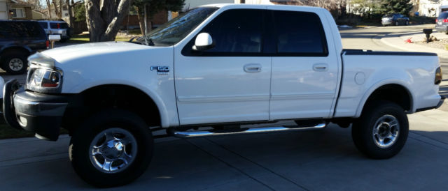 2001 Ford F-150 XLT 4x4 Truck 4-Door SuperCrew w 4 In Lift ...