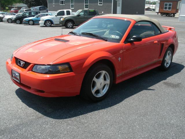 2001 Ford Mustang Premium Convertible