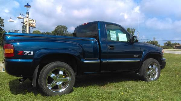 2001 gmc sierra 1500 sle z71 4x4 stepside. Black Bedroom Furniture Sets. Home Design Ideas