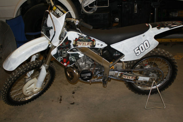 2001 Honda CR500 Aluminum Frame Conversion CR125 CR250 KX500