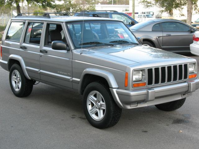 2001 jeep cherokee limited sport utility 4 door 4 0l. Black Bedroom Furniture Sets. Home Design Ideas