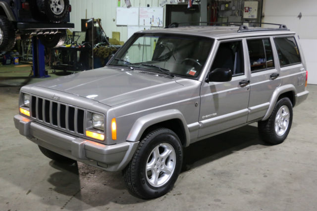 2001 jeep cherokee sport 60th anniversary edition for sale low miles fantastic. Black Bedroom Furniture Sets. Home Design Ideas