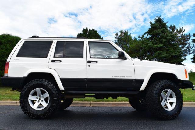 2001 Jeep Cherokee Sport Classic Xj 4wd 4x4 67k Low Miles