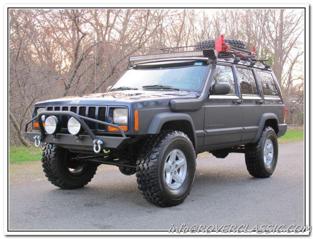 2001 JEEP CHEROKEE XJ SPORT 4x4 ... 94,522 Original Miles ...