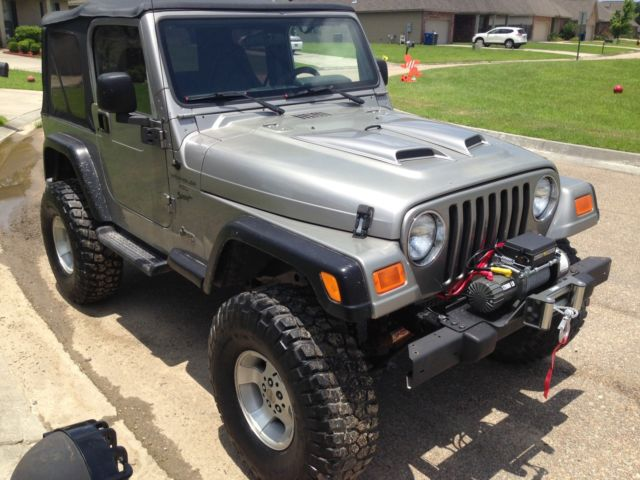 2001 jeep wrangler sport 4x4 auto 129k lifted 35 39 s winch excellent trail rig. Black Bedroom Furniture Sets. Home Design Ideas