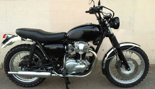 2001 kawasaki w650 scrambler ala deus triumph bonneville. Black Bedroom Furniture Sets. Home Design Ideas
