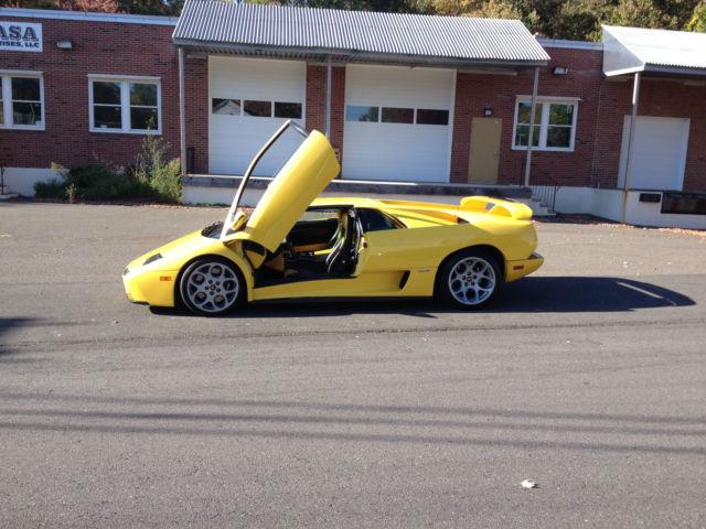 2001 Lamborghini Diablo Vt 6 0 Se Coupe 2 Door 6 0l
