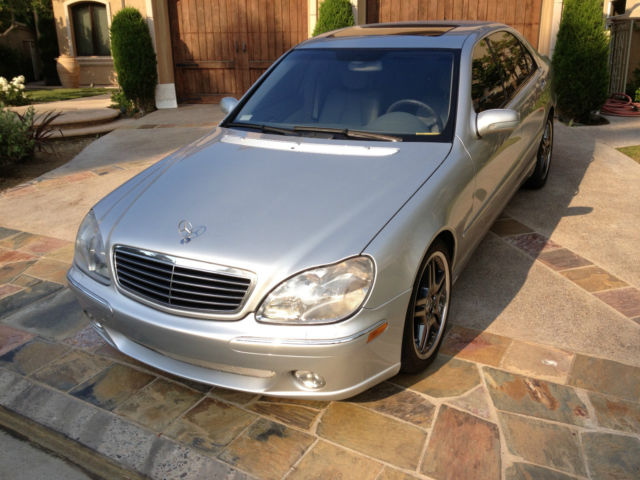 2001 mercedes benz s500 guard sedan 4 door 5 0l. Black Bedroom Furniture Sets. Home Design Ideas