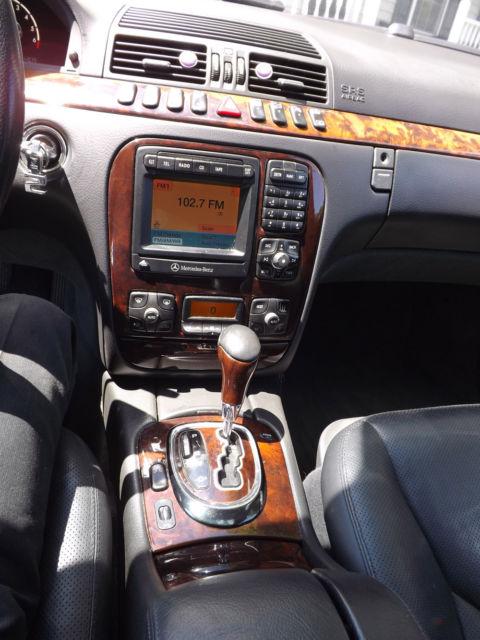 2001 Mercedes-Benz W220 S500, AMG Options, 100% Ready to go! + Bonus!!
