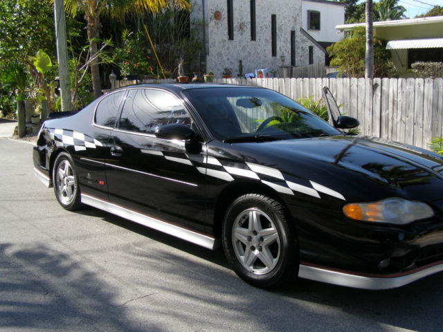 2001 monte carlo ss pace car edition. Black Bedroom Furniture Sets. Home Design Ideas